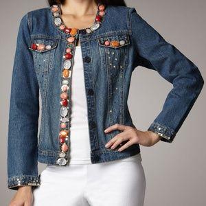 Berek Summer Love Denim Jean Jacket Embellished